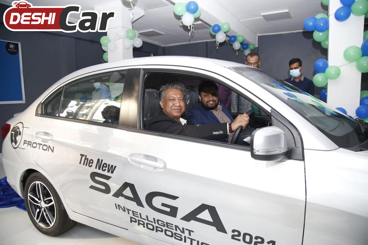 Inauguration of the first car of Made in Bangladesh